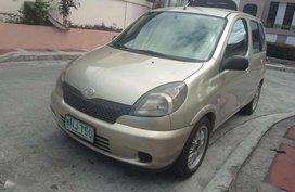 FOR SALE 2000 Toyota Echo Verso 15vvti MT