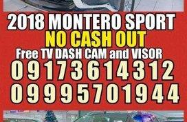 2018 Mitsubishi Montero sport NO DP Glx Gls Premium