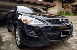 Mazda CX-9 Black 2012 Gas Top of the line