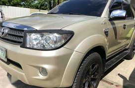 2011 Toyota Fortuner G AT for sale