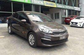 2016 Kia Rio M/T Brown Gasoline 54,000kms