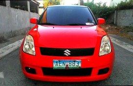 Suzuki Swift Red 2005 AT FOR SALE