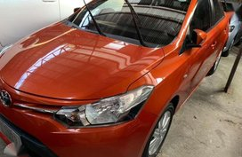 2017 TOYOTA Vios 1.3 E Automatic Orange GRAB READY
