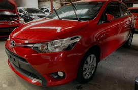 GRAB READY TOYOTA Vios 1.3 E 2017 Automatic Red