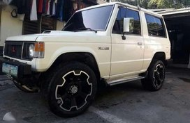 MITSUBISHI Pajero 3door 1st gen package with hatch ef 91 model