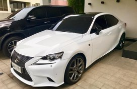 Lexus IS F 2014 for sale price negotiable