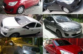 Mitsubishi Mirage G4 glx 2015 for sale