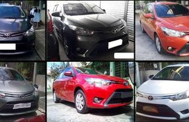 TOYOTA Vios E GRAB 2017 AT ByaE