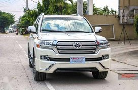Toyota Land Cruiser VX Limited Platinum Edition 2018