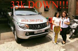 33k DOWNPAYMENT ONLY2018 Mitsubishi Strada Glx Manual montero L300