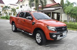 2015 Ford Ranger Wildtrack 4 x 4 3.2L Auto For Sale