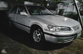 Toyota Camry 1997 silver automatic rush negotiable