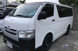 Toyota Hiace Commuter Manual Diesel 2014