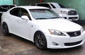 Lexus F-sport Is300 Pearl white limited 2009