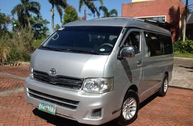 Toyota Hiace GL Gandia Van 2011 model Manual Diesel Lucena City