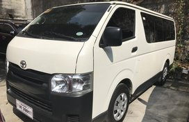2017 TOYOTA HIACE COMMUTER 30 manual diesel