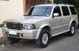 2005 Ford Everest 4x2 matic FOR SALE