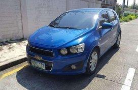 Chevrolet Sonic 2013 LTZ 1.4 liter engine fuel efficient