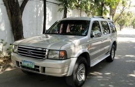 Ford Everest 2005 matic diesel FOR SALE