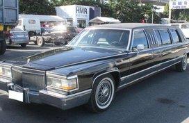 1990 Cadillac Brougham Limousine (4 Door) AT Gas HMR Auto auction