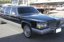 1991 Cadillac Brougham Limousine AT Gas HMR Auto auction