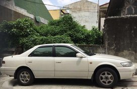 97 Toyota Camry Pearl White automatic FOR SALE