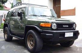 2014 Toyota Fj Cruiser At Army Green
