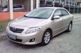 2008 Toyota Altis for sale