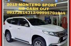 2018 Mitsubishi Montero for sale