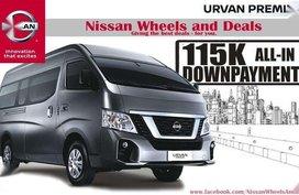 115K DP Nissan NV350 Premium Urvan 2018