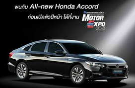 Honda Accord 2019 to be launched at Thailand's International Motor Expo