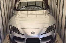 Latest teaser photos of the Toyota Supra 2019 revealed