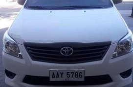 2014 Toyota Innova J for sale
