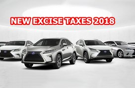 Lexus Philippines price list -  April 2019