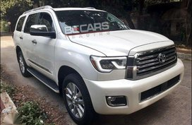 2018 Toyota Sequoia Platinum New look on hand