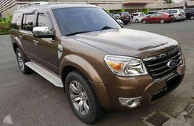 2012 Ford Everest Limited 2.5 TDCI Turbo Diesel 4x2