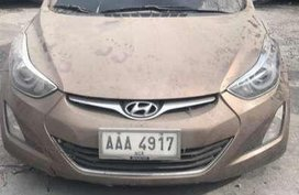 2014 Huyndai elantra manual for sale