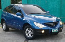 2008 Ssangyong Actyon Xdi diesel matic