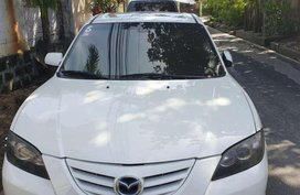 Mazda 3 2005 White for sale