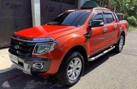 Ford Ranger Wildtrack 2014 for sale