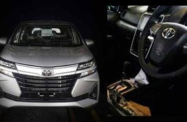 Photos of the Toyota Avanza 2019 facelift's interior leaked online