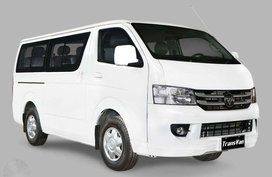 FOTON VIEW TRANSVAN 13and15 seater 2019