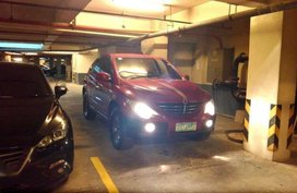 2008 Ssangyong Actyon Straight Swap with Japanese or American SUV