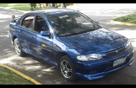 Mazda 323 lady owned 1998 for sale