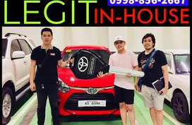 29k Low Down 2019 Toyota Wigo E MT Promo