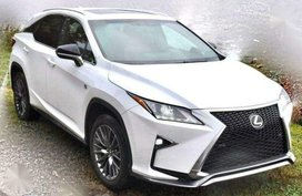 Lexus Rx350 Fsport AT 21tkms 2017 FOR SALE
