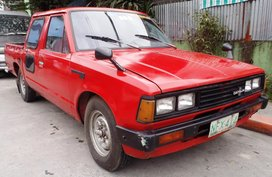RUSH SALE: 1981 Nissan Datsun Double Cab Pick up Diesel php88,000 Only
