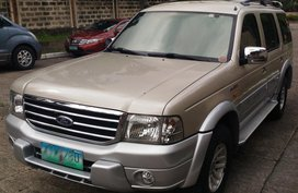 FORD EVEREST XLT AT 4x4 2005 FOR SALE