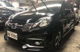 2015 Honda Mobilio 15 RS Automatic Black