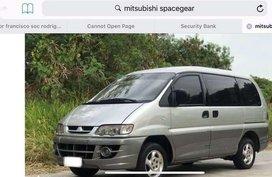 2004 Mitsubishi Spacegear for sale